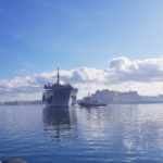 Gollcher acts as Shipping Agent for USS Mt. Whitney Port Visit in Malta